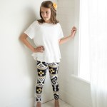 Simple Girls Leggings Pattern Release (and giveaway)