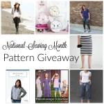 National Sewing Month Sewing Pattern Giveaway Palooza