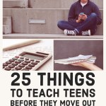 The Art of Homemaking: 25 Things to Teach Teens Before They Move Out
