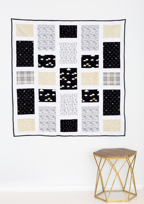 A Quilt Kit for When Skies Are Grey