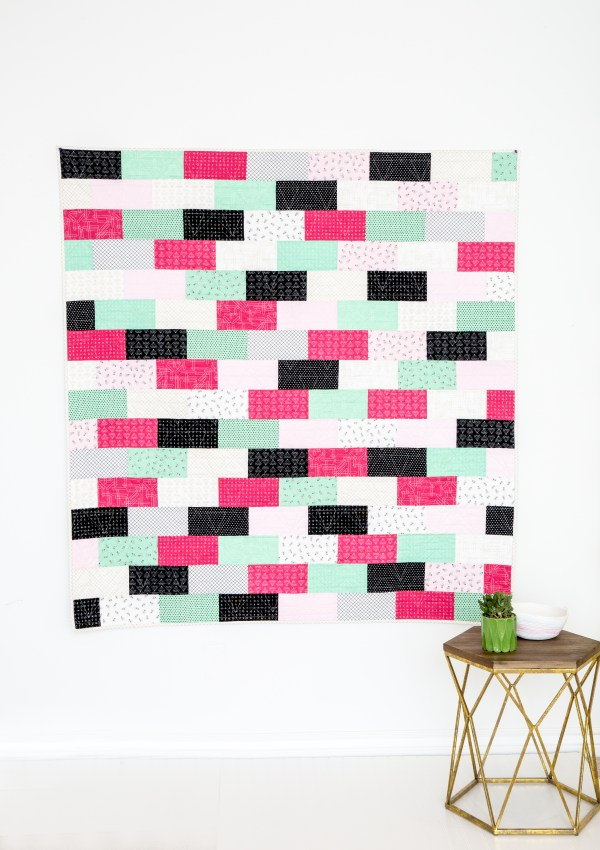 The Sleepover Quilt–A FREE PATTERN