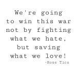 Saving What We Love (An Art of Homemaking Post)