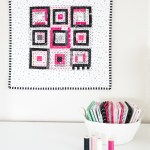 Log Cabin Mini Quilt Tutorial (Paper Pieced)