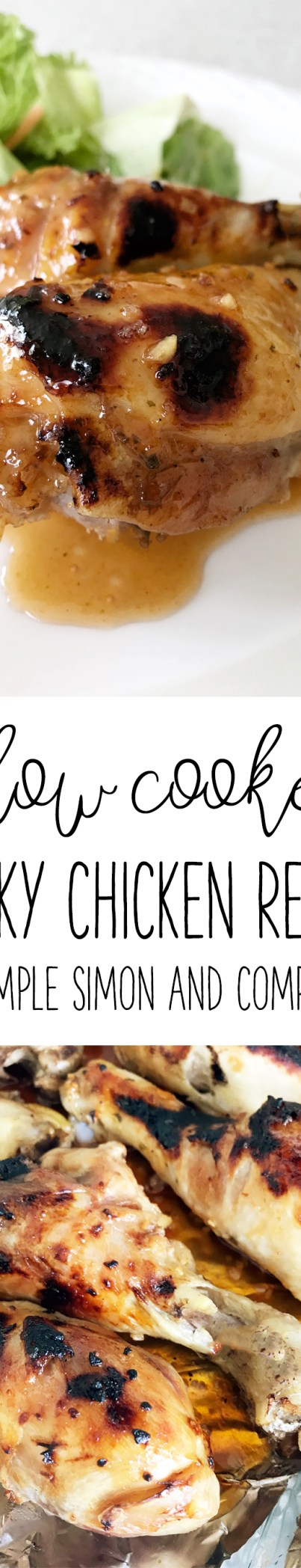 Slow Cooker Sticky Chicken Recipe