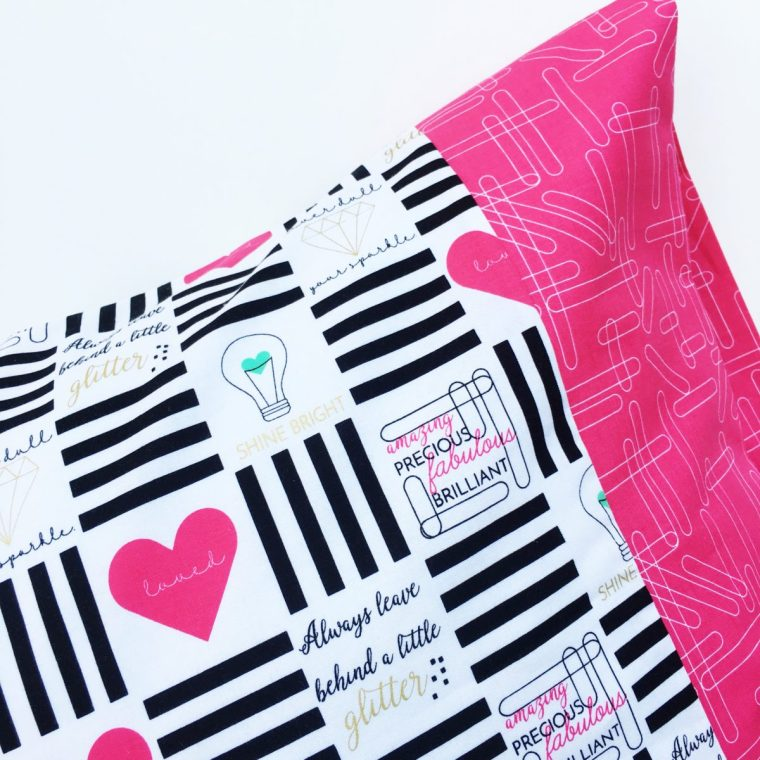 Skirting the Issue Pillowcases for Charity