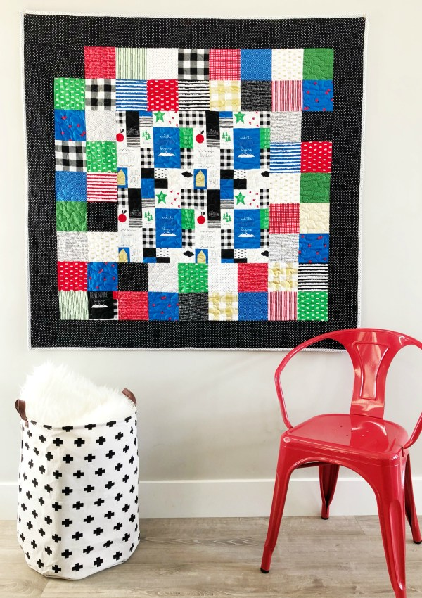 Starting At Square One Quilt Pattern (Perfect for Beginners!)