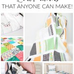 10 Free Quilts that anyone can make!