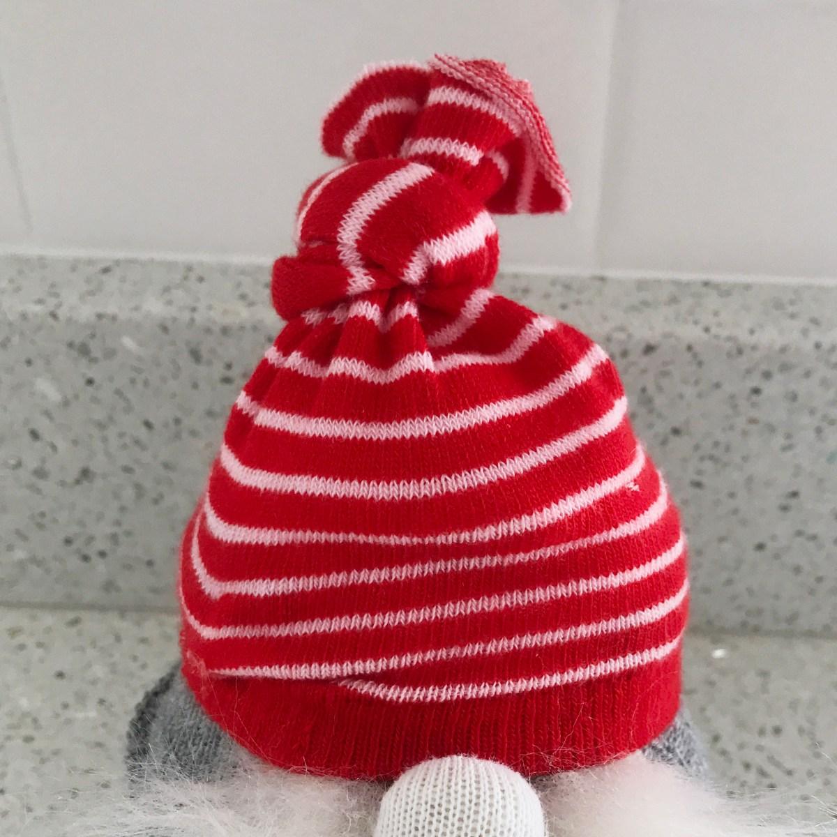 Valentine Gnome Tutorial hat