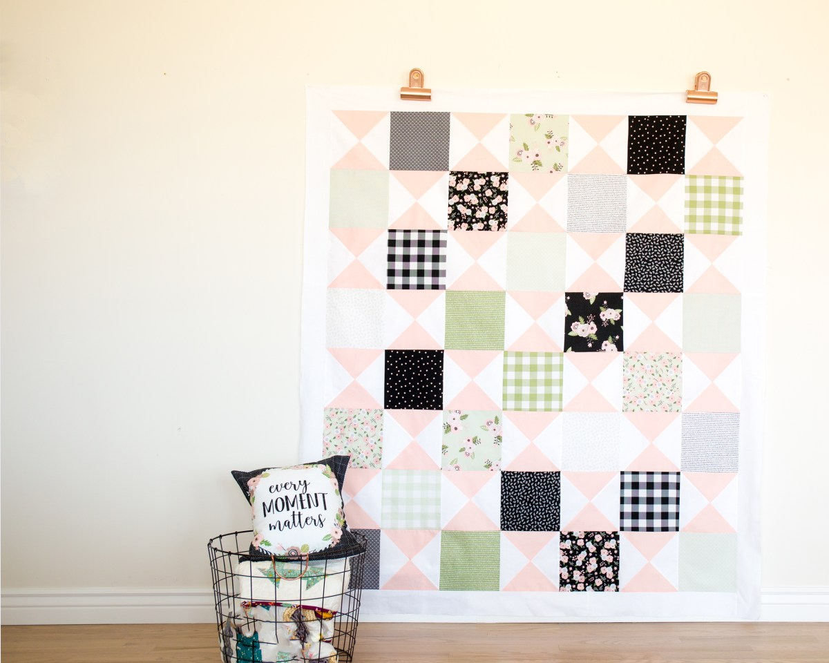 Modern Farmhouse Quilt Pattern--Simple Simon and Company