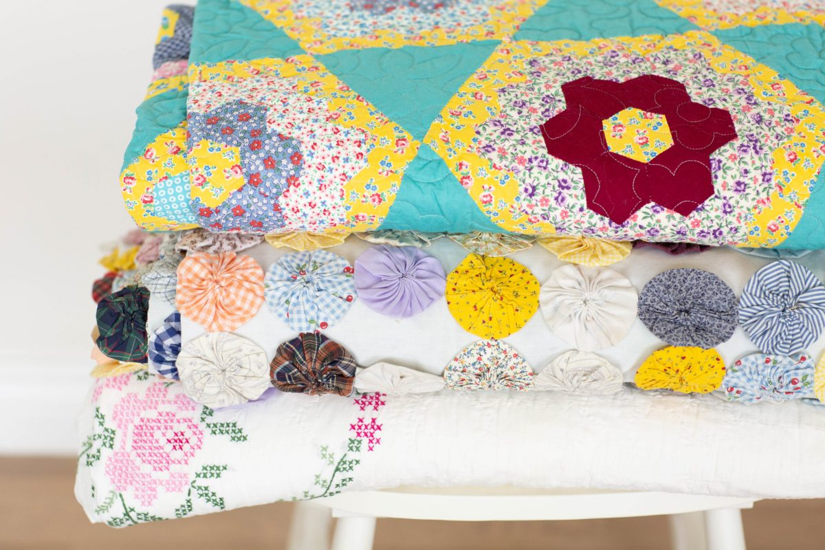How to store vintage quilts