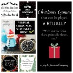 Virtual Christmas Games