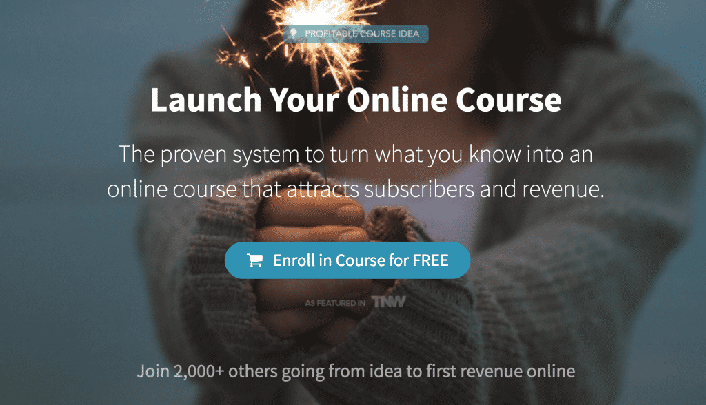 teachable online course