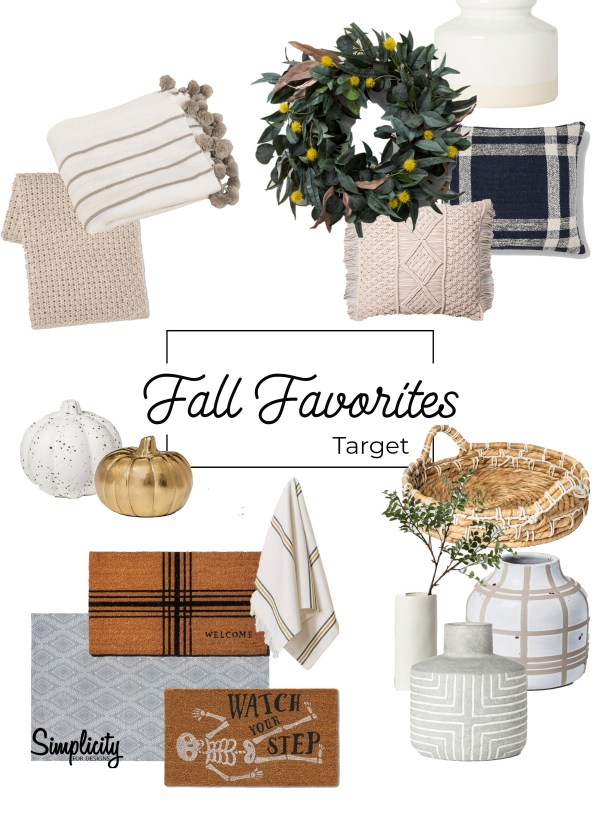 Fall Home Finds Favorites at Target