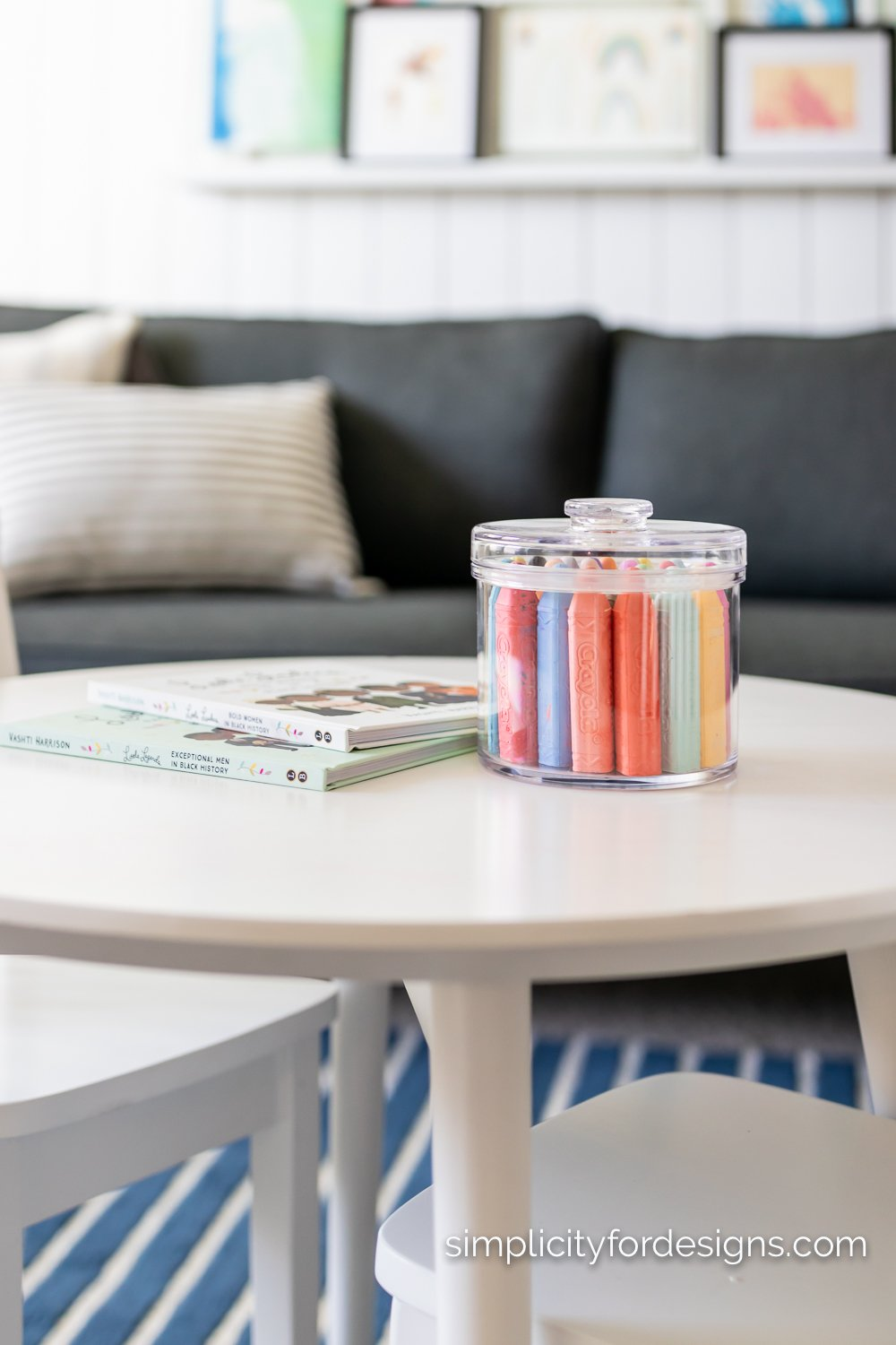 acrylic containers for chalk