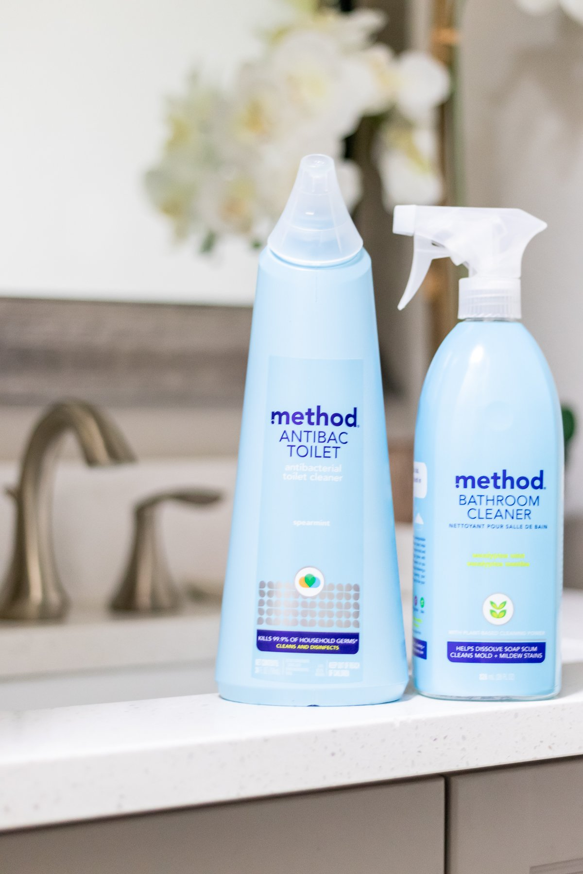 method antibacterial bathroom cleaners