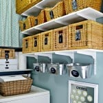 Organized Laundry Room Reveal {small Home/ BIG Ideas}