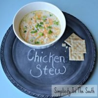 Simple Southern Chicken Stew Recipe