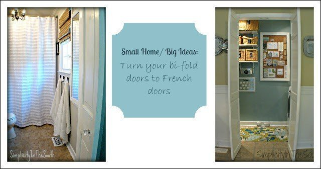 how to turn your bi-fold doors into french doors