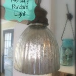 Faux Easy Mercury Pendant Light