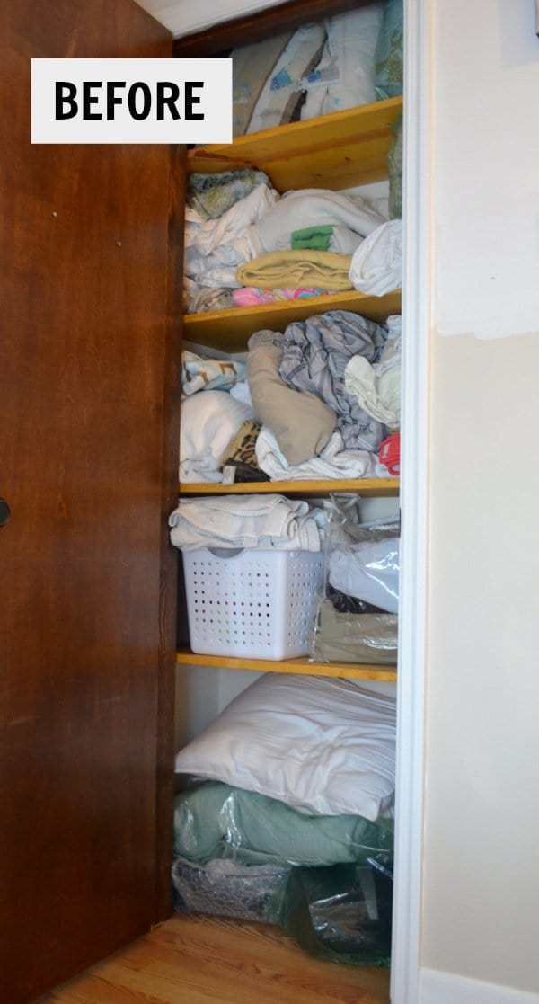 before linen closet picture.