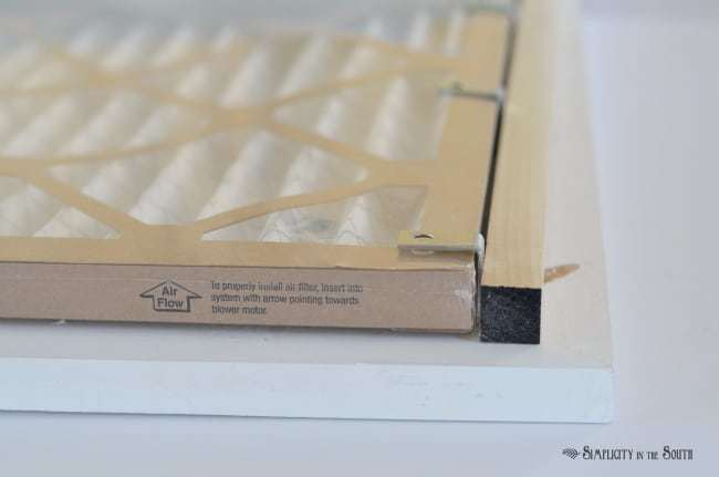 How to Make a Decorative Air Return Vent Cover