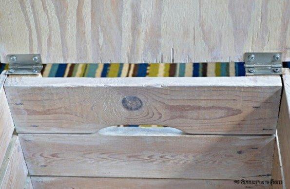 storage crate hinges