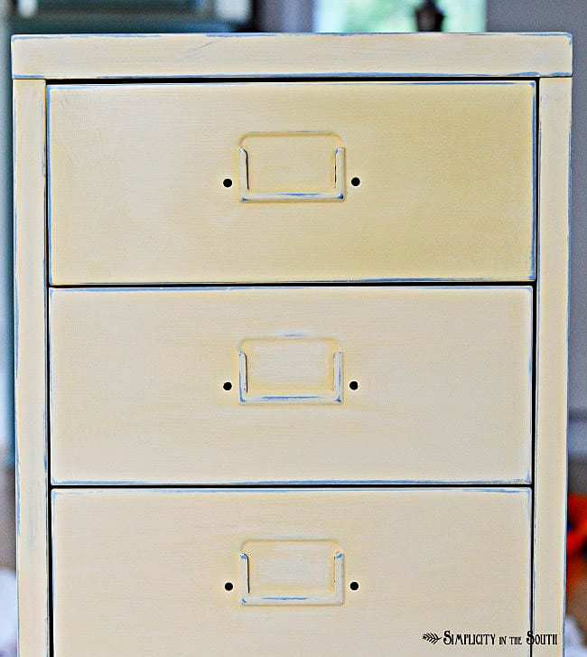 Ikea Helmer unit with Annie Sloan Paint in Arles copy