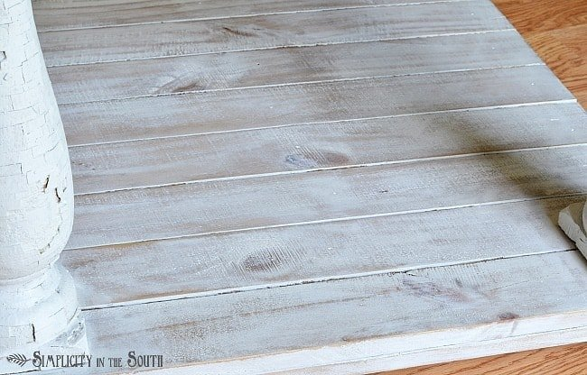 How to use milk paint to get a limed paint finish