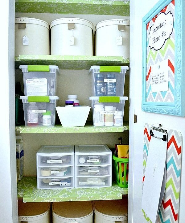Hall Closet Organization: small home / BIG IDEAS