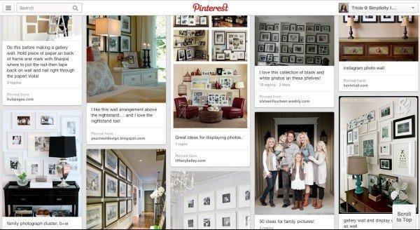 Pinterest Gallery Wall Ideas