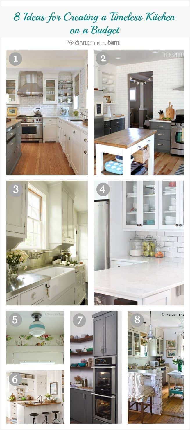 Remarkable 8 Ideas For Creating A Timeless Dream Kitchen On A Budget Home Interior And Landscaping Elinuenasavecom