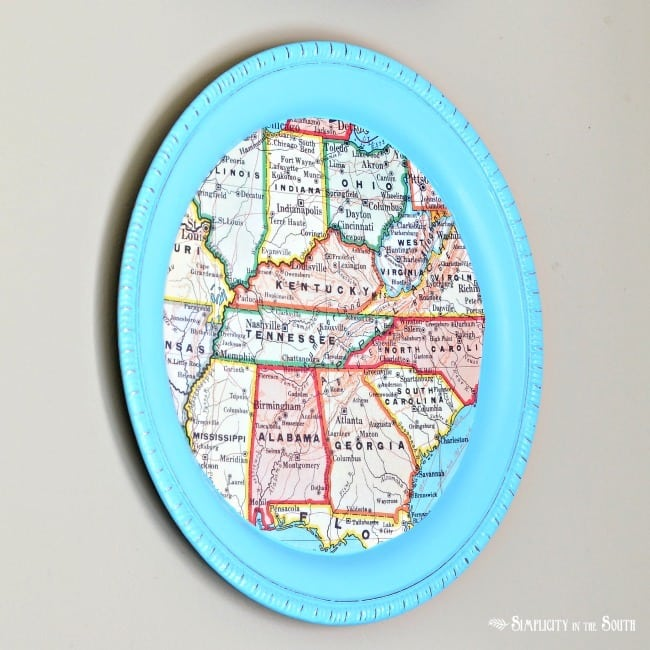 southeast map tray