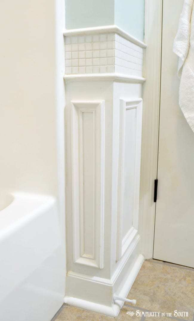 wainscoting detail