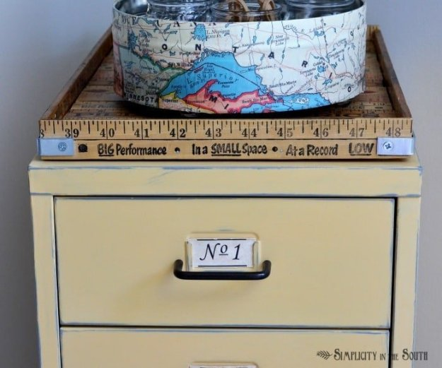 yardstick tray tutorial-Simplicity in the South