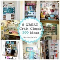 8 Great Craft Closets: Organization Ideas