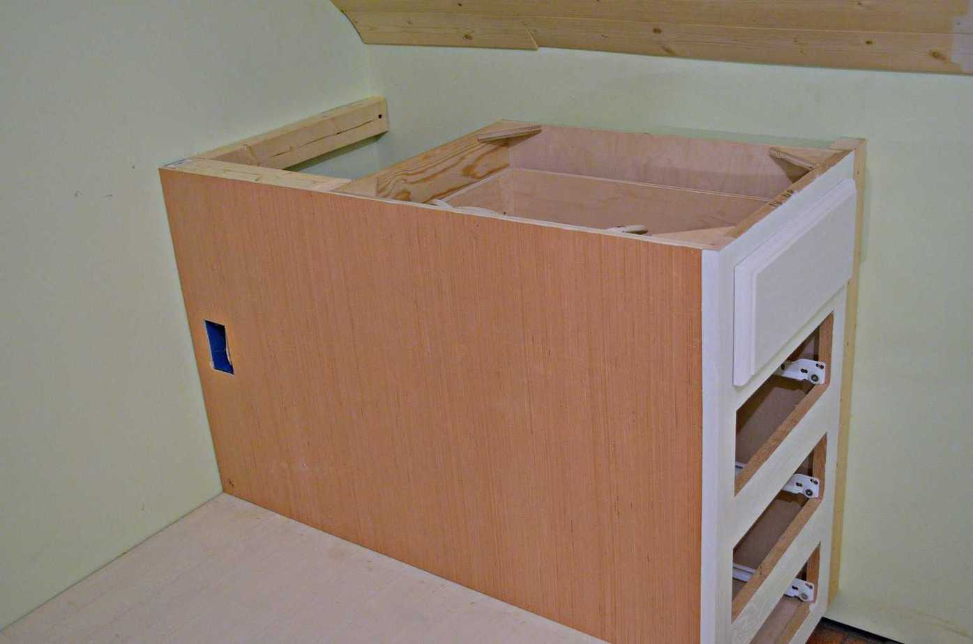 How To Make A Built In Bed Using Kitchen Cabinets A Rustic Planked Wall Simplicity In The South