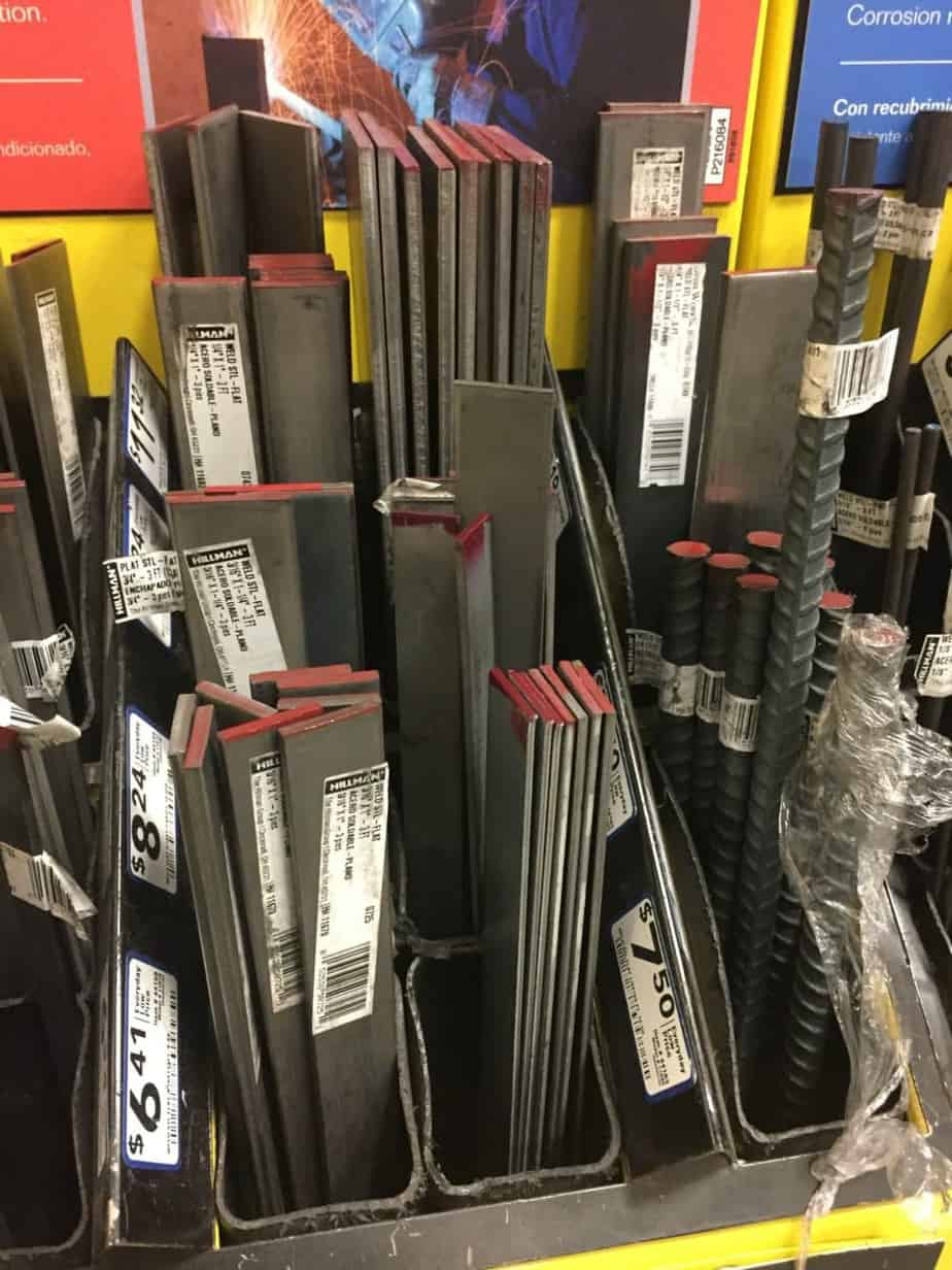 How to Make Farmhouse Shelf Brackets Out Of Metal