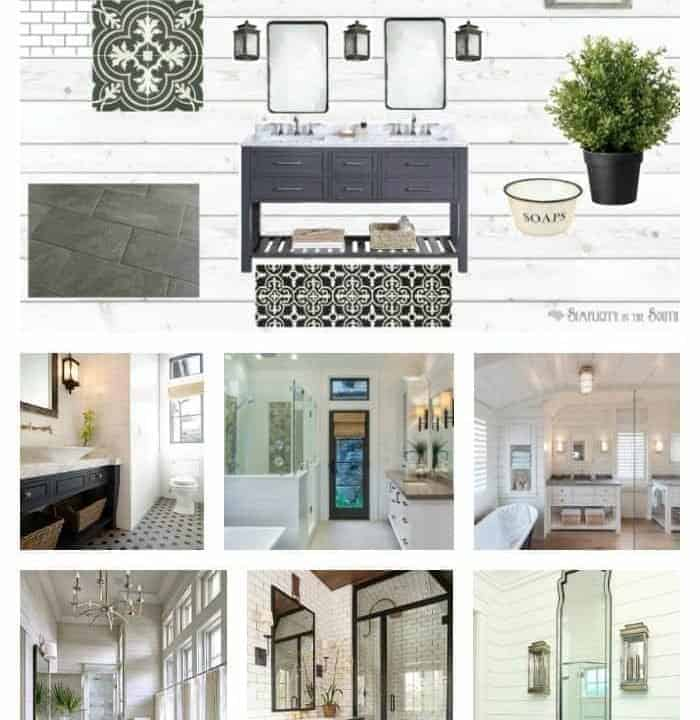 Eclectic farmhouse bathroom ideas