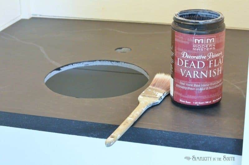 How to make faux soapstone with paint step 13
