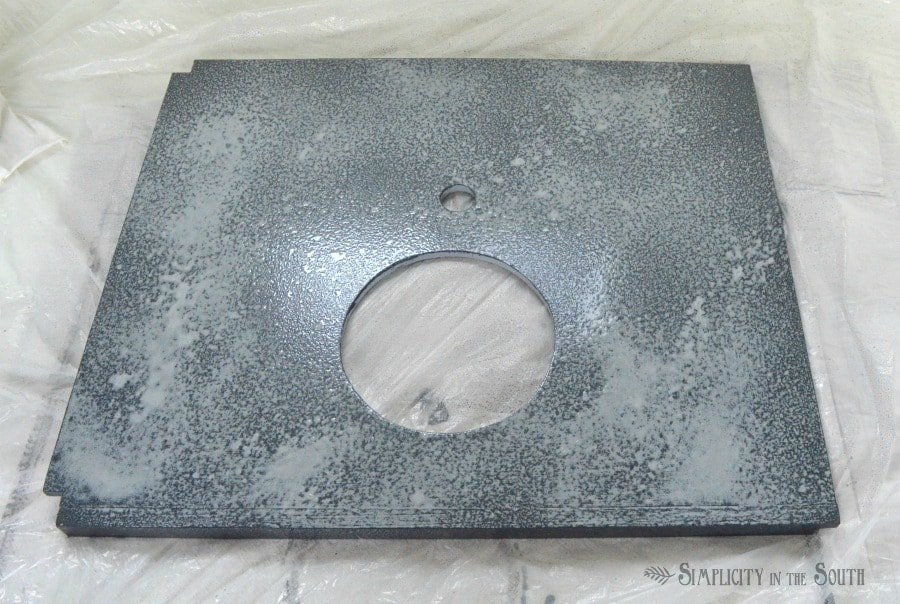 How to make faux soapstone with paint step 4