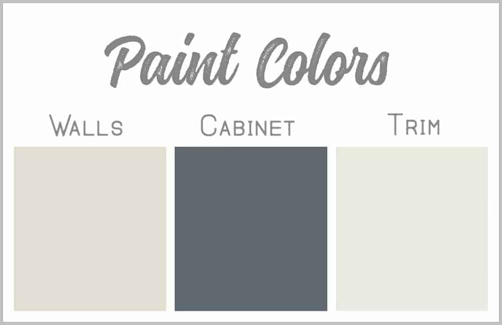 Paint colors for the master bathroom