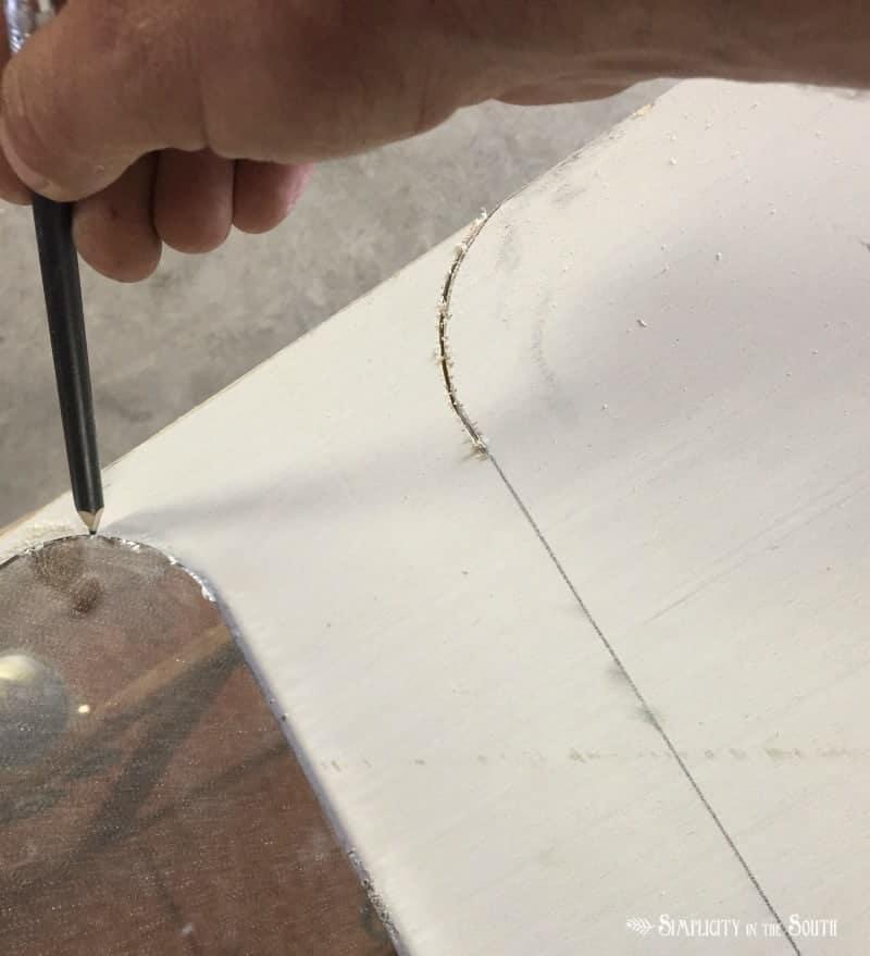 DIY Restoration Hardware Bristol Flat Mirror tutorial