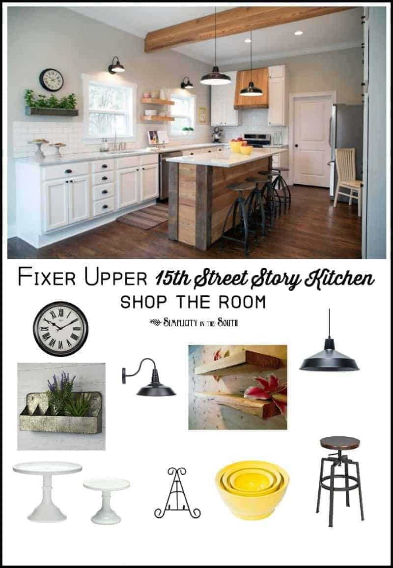 Fixer Upper 15th Street Story Kitchen | Shop the Room