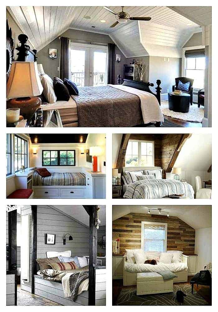 Small dormer bedroom ideas