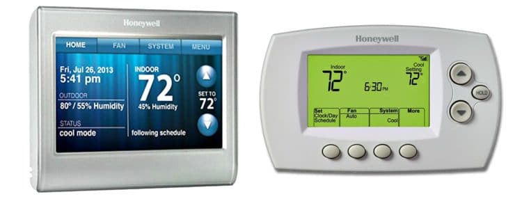 Programmable wifi thermostats