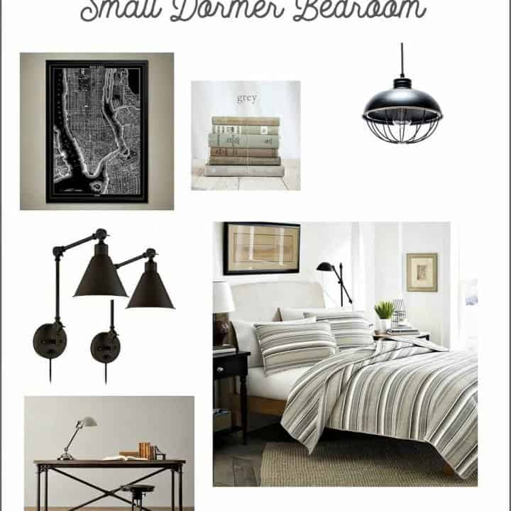 Rustic industrial dormer bedroom ideas