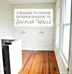 5 reasons why you should choose exterior plywood to shiplap walls instead of luan underlayment