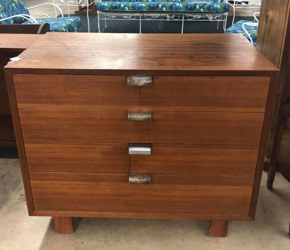 George Nelson for Herman Miller 4 drawer chest
