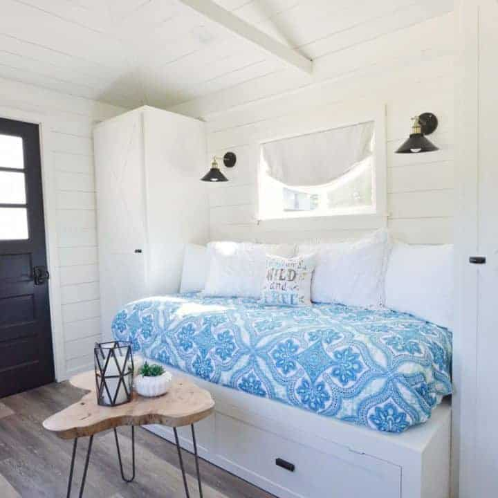 how to make a built in trundle bed