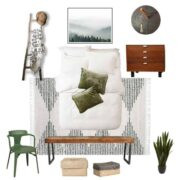 Guest Bedroom Makeover Design Plans + Mood Board